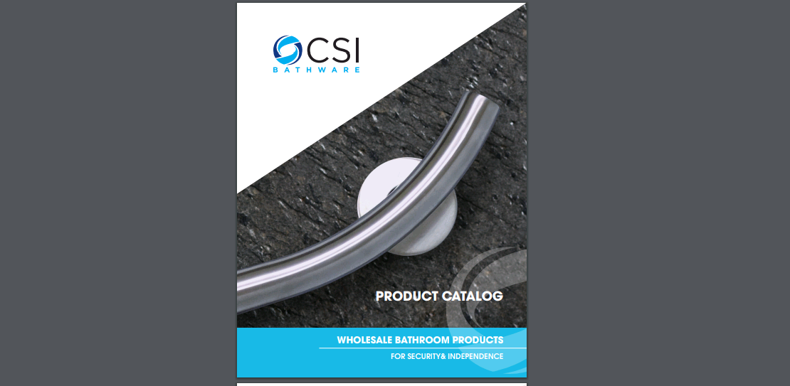CSI Bathware - Product Catalog Screenshot 1