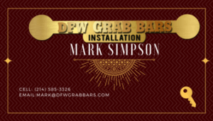DFW Grab Bars Installation - Graphic