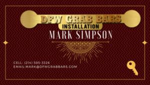 DFW Grab Bars Installation - Graphic