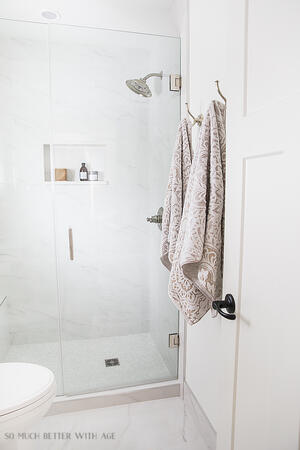 Towel Hook Bathroom Image