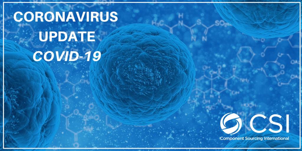 Coronavirus Update COVID-19